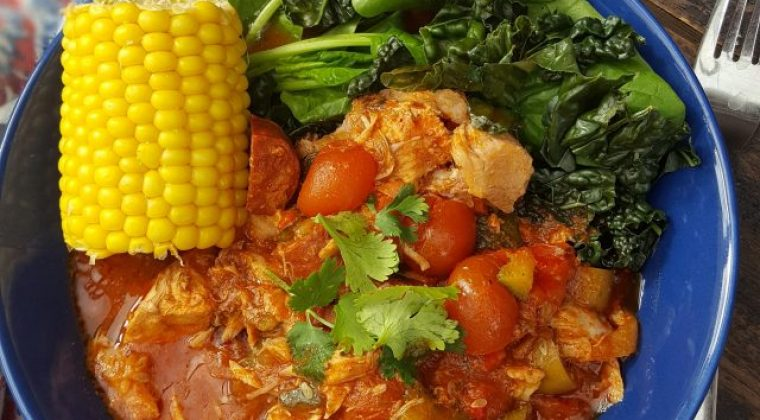 slow cook spanish chicken
