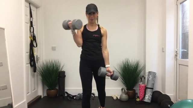 Upper body weighted