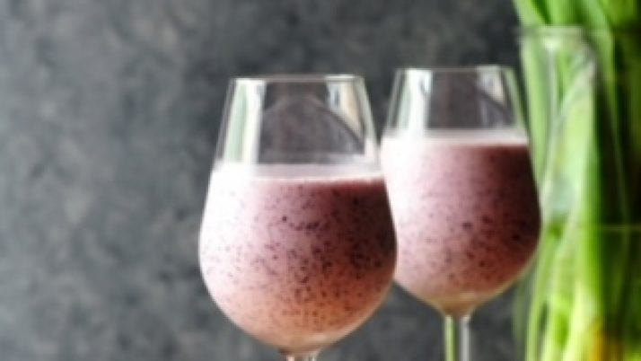 Blueberry Breakfast smoothie