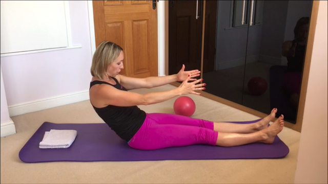 Pilates – core strengthener